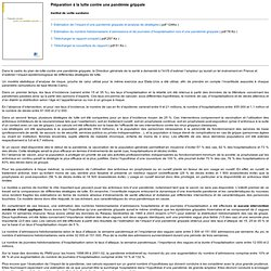 INVS JANV 2006 Préparation à la lutte contre une pandémie grippale