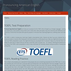TOEFL Preparation Course Online