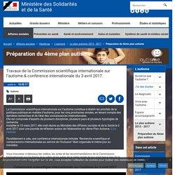 Préparation du 4ème plan autisme - Le plan autisme 2013 - 2017 - Ministère des Solidarités et de la Santé