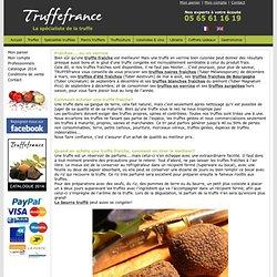 Conseils de préparation et d'utilisation des truffes