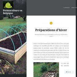 Préparations d'hiver – Permaculture en Belgique