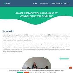 Classe Préparatoire Economique et Commerciale voie Générale - Infoprepa