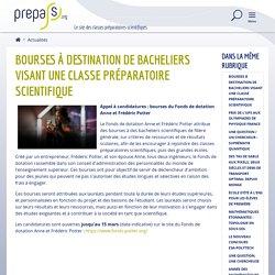 Bourses à destination de bacheliers visant une classe préparatoire scientifique