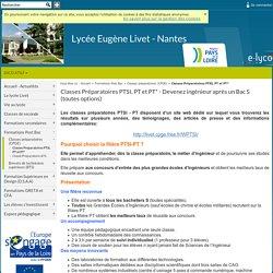 Prépa Nantes PTSI