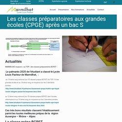 BCPST Lycée Louis Pasteur Marmilhat (proche Clermont Ferrand)