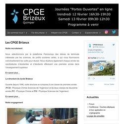 CPGE Brizeux – Classes Préparatoires Scientifiques