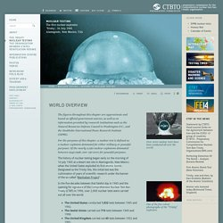 World overview: CTBTO Preparatory Commission