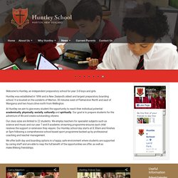 Huntley School - Introduction