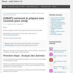 préparer un csv pour l'import dans UMAP
