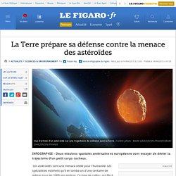 La Terre prépare sa défense contre la menace des astéroïdes