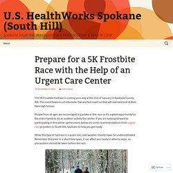 Prepare for a 5K Frostbite Race with the Help of an Urgent Care Center