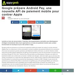 android API : android Pay