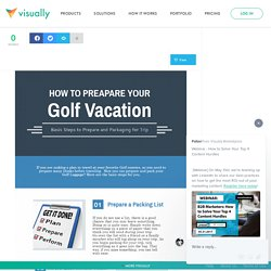 5 Steps to Prepare and Packaging for Golf Vacation