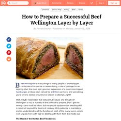 How to Prepare a Successful Beef Wellington Layer by Layer