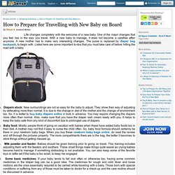 How to Prepare for Travelling with New Baby on Board