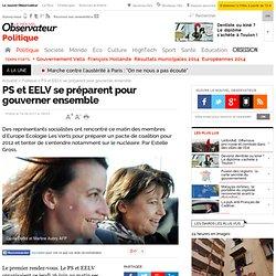 PS et EELV se préparent pour gouverner ensemble - Politique
