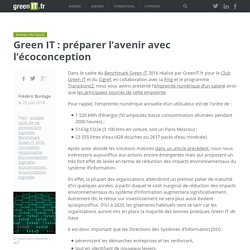 Green IT : préparer l'avenir avec l'écoconception - Green IT
