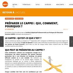Préparer le CAPPEI : qui, comment, pourquoi ?