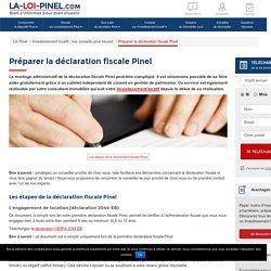 Préparer la déclaration fiscale Pinel - Loi Pinel