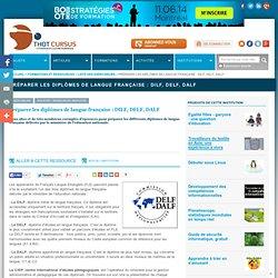 Préparer les diplômes de langue française : DILF, DELF, DALF