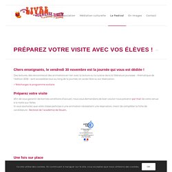 préparer sa visite - Festival du livre de jeunesse Rouen