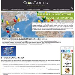 Globe-Trotting, à la découverte du Monde
