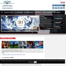 Préparer le concours - cefam.fr