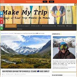 Bien préparer son road trip en Nouvelle-Zélande □□ Guide complet