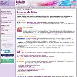 Se préparer pour le Bac (et Brevet) : Révisions - Cité scolaire Paul Arène à Sisteron