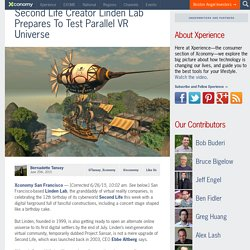 Second Life Creator Linden Lab Prepares To Test Parallel VR Universe