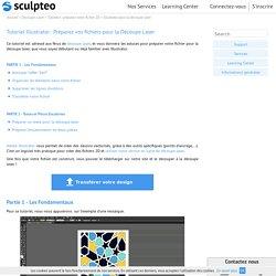 Préparez votre fichier pour la découpe laser avec Illustrator