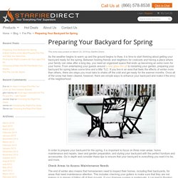 Preparing Your Backyard for Spring