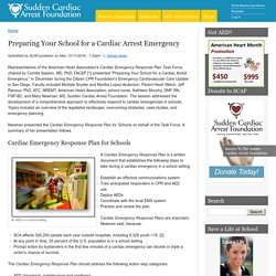 Preparing Your School for a Cardiac Arrest Emergency