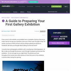 A Guide to Preparing Your First Gallery Exhibition