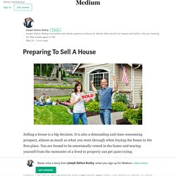 Preparing To Sell A House