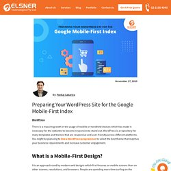 Preparing Your WordPress Site for the Google Mobile-First Index