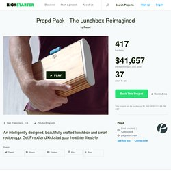 Prepd Pack - The Lunchbox Reimagined by Prepd