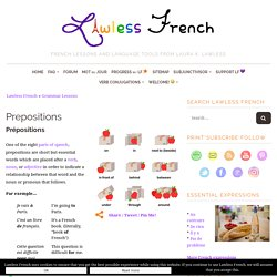 French Prepositions - Learn French - Lawless French Grammar