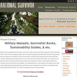 Prepper Library - Rational Survivor
