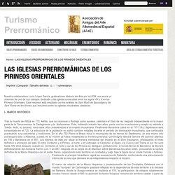 LAS IGLESIAS PRERROMÁNICAS DE LOS PIRINEOS ORIENTALES