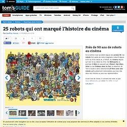 Près de 90 ans de robots au cinéma