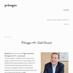 Présages #4 : Gaël Giraud — présages