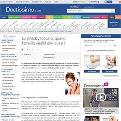 Presbyacousie - Tout sur la presbyacousie