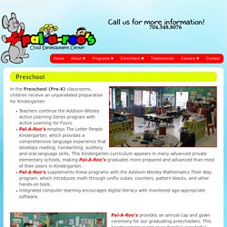 Preschool For Kids Charlotte