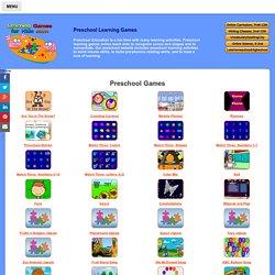 Preschool Learning Games For Kids