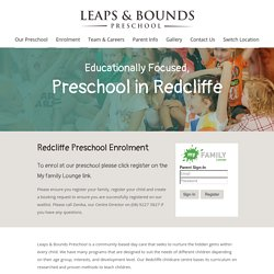 Enhance the Social Skills of Your Child at Redcliffe Preschool