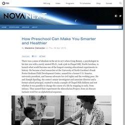 How Preschool Can Make You Smarter and Healthier — NOVA Next