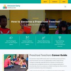 Become a Preschool Teacher - Degree Requirements and Duties