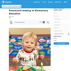 Preschools leading to Elementary Education