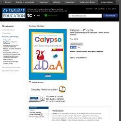 Calypso - 1er cycle - Livres du préscolaire à l'université